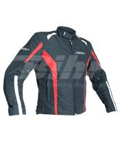 Chaqueta textil (Hombre) RST Rider Rojo, Talla 2XL/58