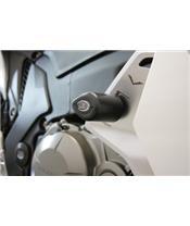 R&G RACING Aero Crash Pads Black Honda VFR1200F/FD/DCT
