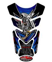 Protection de réservoir MOTOGRAFIX 4pcs bleu Honda