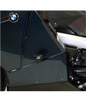 Tampons de protection R&G RACING Aero noir BMW K1200LT/GT / K1300 GT