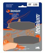 Plaquettes de frein TECNIUM MF126 métal fritté