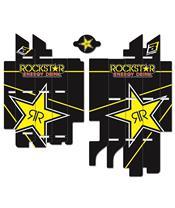 Kit déco de cache radiateur BLACKBIRD Rockstar Energy Suzuki RM-Z450