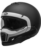 Casque BELL Broozer Cranium Matte Black/White