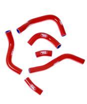 Durites de radiateur SAMCO type origine rouge - 6 durites Honda CRF450R