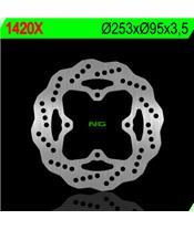 NG 1420X Brake Disc Petal Fix
