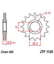 Pignon JT SPROCKETS 11 dents acier standard pas 420 type 1120