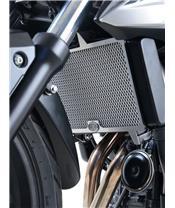 R&G RACING Alu-Kühlerschutz schwarz Honda CB500F