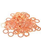Arruela cobre 6X10X1,0 saco de 100 peças R060100BC/100
