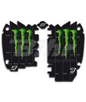 Adhesivos para rejillas de radiador Blackbird Réplica Kawasaki Monster A402R6