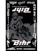 BIHR Home Track Bodenmatte  Fahrerlager 160 x 100cm schwarz