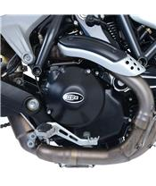 R&G RACING Right Engine Case Cover (Hydraulic Clutch) Black Ducati Scrambler 1100