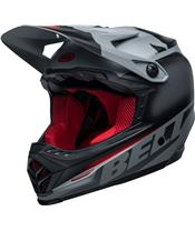 BELL Moto-9 Youth Mips Helmet Glory Black/Gray/Crimson Size YL/YX