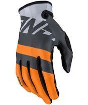 ANSWER AR1 Voyd Gloves Charcoal/Orange/Gray