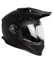 Casque JUST1 J34 Adventure Solid noir mat