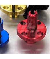 Tensor de Pro-Bolt M10 (1 peças) alumínio vermelha LCA20R