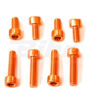 Kit parafusaria tampa reservatório Pro-Bolt alumínio TBM060O laranja