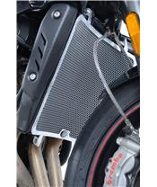 R&G RACING Radiator Guard Stainless Steel Triumph Speed Triple 765