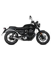 MIVV Ghibli Muffler Stainless Steel/Stainless Steel End Cap Moto Guzzi V7 III