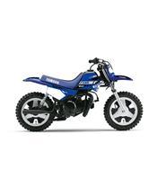 Kit plastique ART couleur origine bleu + kit déco KUTVEK Racer bleu Yamaha PW50