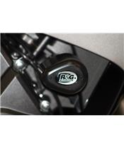 Tampons de protection R&G RACING Aero noir Honda CBR600RR