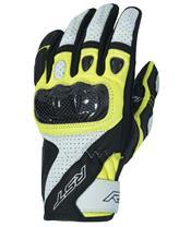 RST Stunt III CE Gloves Leather/Textile Flo Yellow Siz