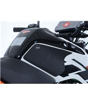 R&G RACING Tank Traction Pads Clear (2 Pieces) KTM Duke 125