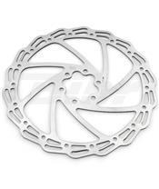 Disco de freno Alhonga 6 tornillos ondulado Ø180mm