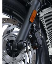 R&G RACING Fork Protectors Black Triumph
