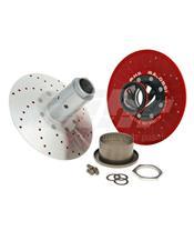 Sistema polia traseira Malossi MHR alumínio 6114590