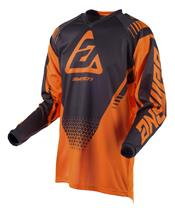 Maillot ANSWER Syncron Drift Junior orange fluo/Charcoal