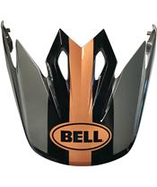 BELL Visier MX-9 Marauder Black/ Kupferfarben