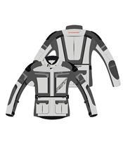 Chaqueta Textil (Hombre) RST ADVENTURE-X Gris , Talla 54/L