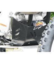 BODEMBESCHERMING GP KTM SXF450 2011 ZWART ORANJE STICKER