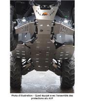 Proteção integral AXP, alumínio, 6 mm, Yamaha