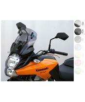 "MRA Variotouring ""VTM"" Windshield Smoke Grey Kawasaki Versys 650"