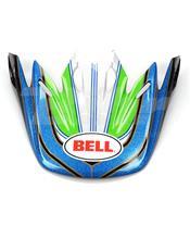 VISERA BELL MOTO-9 AIRTRIX STANCE AZUL / VERDE