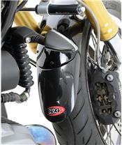Extension de garde-boue avant R&G RACING effet carbone Kawasaki Versys 1000