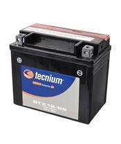 TECNIUM Battery BTX12-BS Maintenance Free with Acid Pack