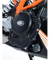 Right engine casing protection R&G RACING KTM 390 Duke