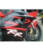 R&G RACING Classic Crash Protectors Black Honda CBR900RR