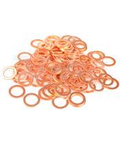 Arruela alumínio 13X18X1,5 saco de 100 peças R130180GA/100