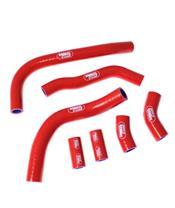 Durites de radiateur SAMCO type origine rouge - 7 durites Honda CRF450R