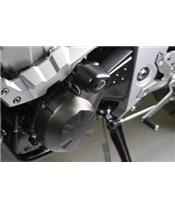 Tampons de protection R&G RACING Aero noir Kawasaki Z1000/750/R