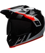 Casque BELL MX-9 Adventure Mips Dash Gloss Black/White/Orange