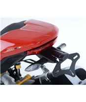 R&G RACING Licence Plate Holder Black Ducati