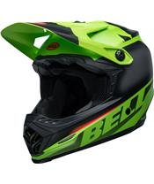 BELL Moto-9 Youth Mips Helmet Glory Green/Black/Infrared Size YS/YM