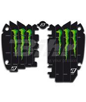 Adhesivos para rejillas de radiador Blackbird Réplica Kawasaki Monster A401R6