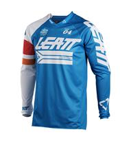 LEATT GPX 4.5 X-Flow Jersey Blue/White