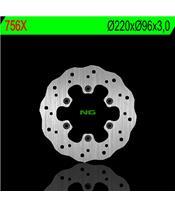 NG 756X Brake Disc Petal Fix