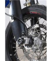 R&G RACING Fork Protectors Black Suzuki DR-Z400SM
